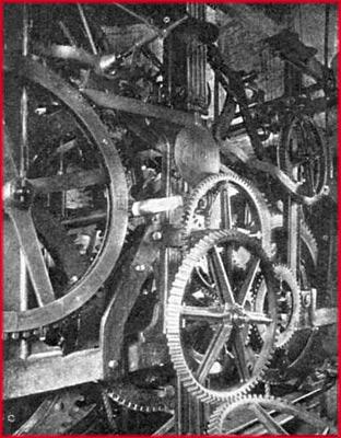 Механизм часов на Спасской башне